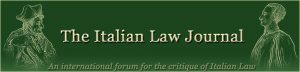 Italian Law Journal