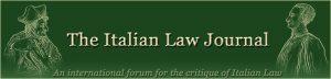 Italian Law Journal
